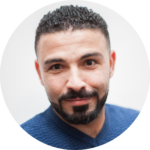 Meet the team: A picture of Hosam Rajab.