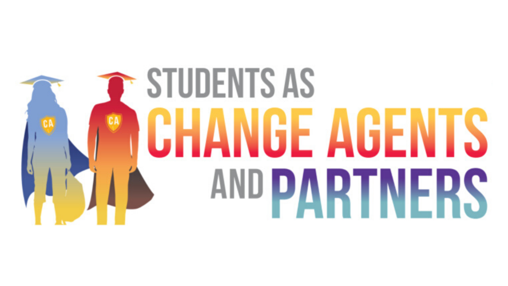 Involved, engaged and constructive: Students as Change Agents today